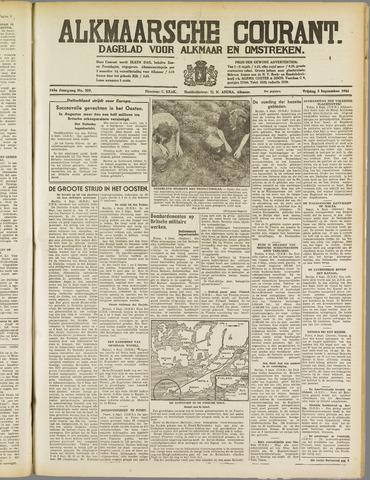 Alkmaarsche Courant 1941-09-05