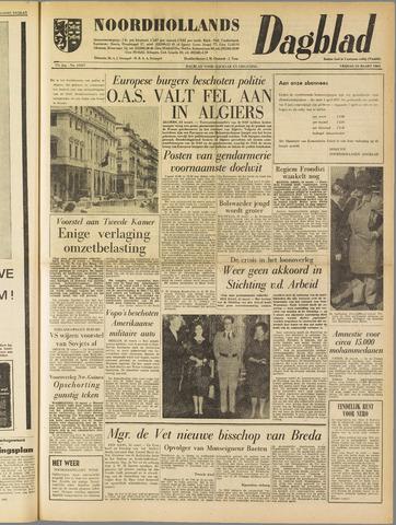 Noordhollands Dagblad : dagblad voor Alkmaar en omgeving 1962-03-23
