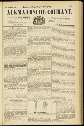Alkmaarsche Courant 1895-04-21