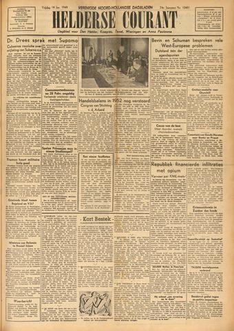 Heldersche Courant 1949-01-14