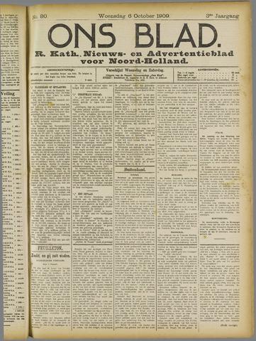 Ons Blad : katholiek nieuwsblad voor N-H 1909-10-06