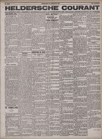 Heldersche Courant 1918-08-29