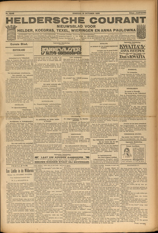 Heldersche Courant 1926-10-19