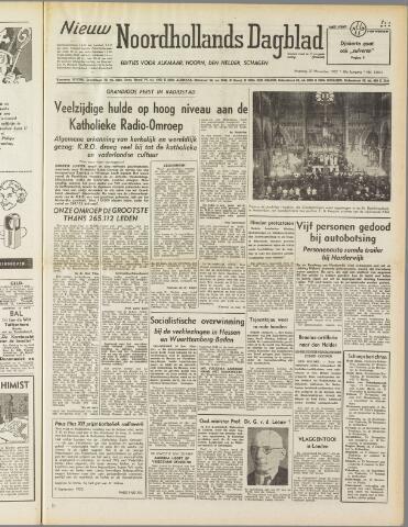 Nieuw Noordhollandsch Dagblad : voor Alkmaar en omgeving 1950-11-20