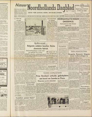 Nieuw Noordhollandsch Dagblad : voor Alkmaar en omgeving 1949-06-14