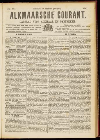 Alkmaarsche Courant 1907-04-25