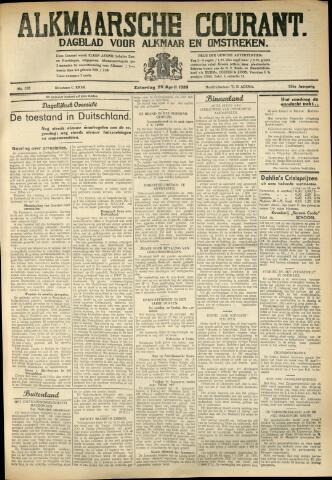 Alkmaarsche Courant 1933-04-29