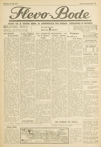 Flevo-bode: nieuwsblad voor Wieringen-Wieringermeer 1947-07-26