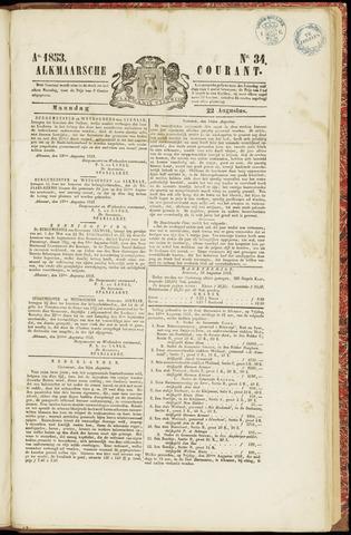 Alkmaarsche Courant 1853-08-22