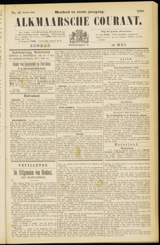 Alkmaarsche Courant 1899-05-14