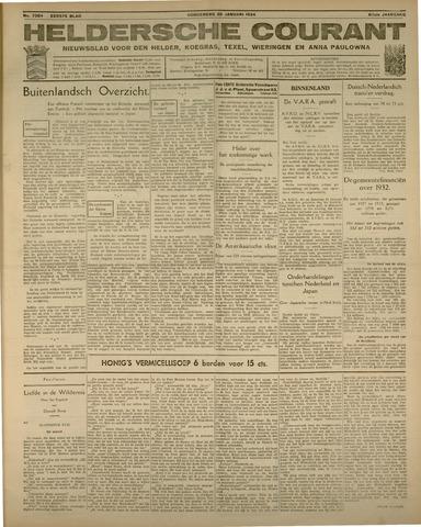 Heldersche Courant 1934-01-25