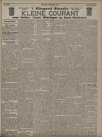 Vliegend blaadje : nieuws- en advertentiebode voor Den Helder 1907-11-09