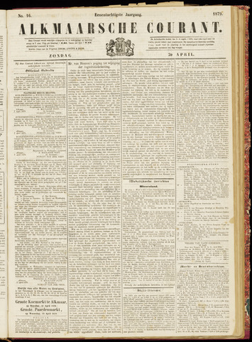 Alkmaarsche Courant 1879-04-20
