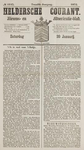 Heldersche Courant 1872-01-20