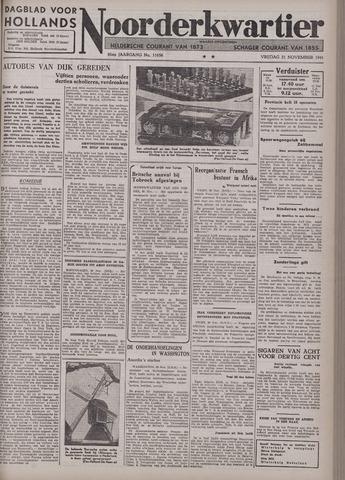 Dagblad voor Hollands Noorderkwartier 1941-11-21