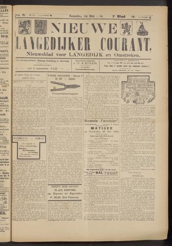 Nieuwe Langedijker Courant 1924-05-24
