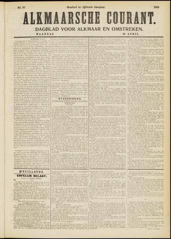 Alkmaarsche Courant 1913-04-28