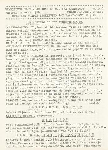 Op De Hoek, weekblad voor Akersloot 1964-06-19