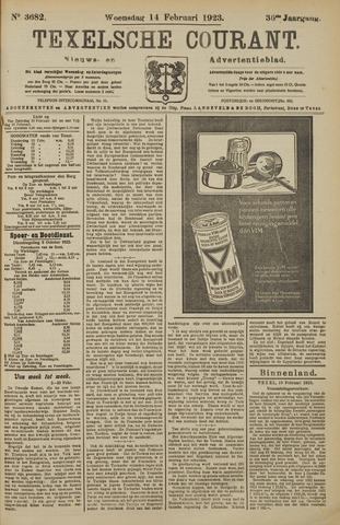 Texelsche Courant 1923-02-14