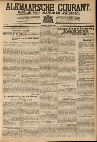 Alkmaarsche Courant 1934-05-14