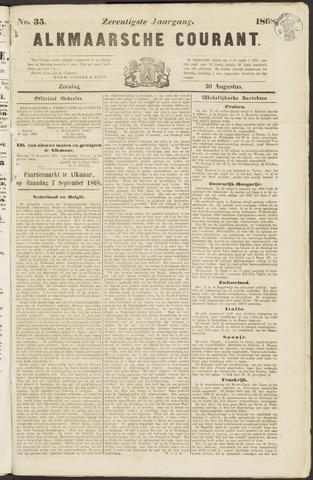 Alkmaarsche Courant 1868-08-30