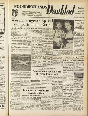 Noordhollands Dagblad : dagblad voor Alkmaar en omgeving 1953-07-11