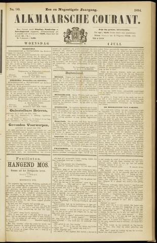 Alkmaarsche Courant 1894-07-04
