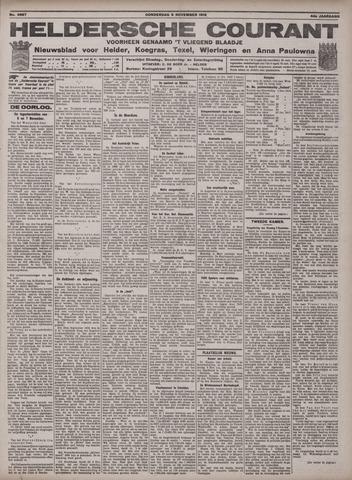Heldersche Courant 1916-11-09