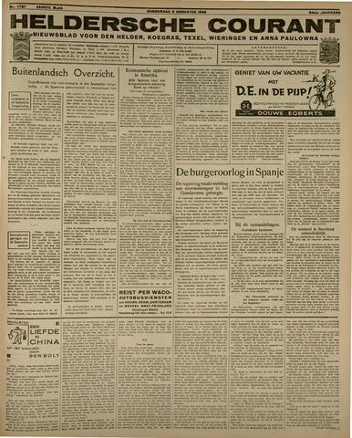 Heldersche Courant 1936-08-06