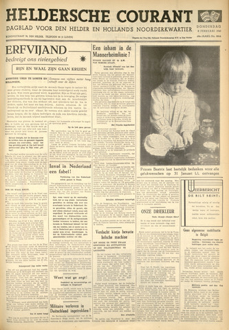 Heldersche Courant 1940-02-08
