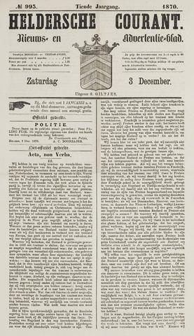 Heldersche Courant 1870-12-03