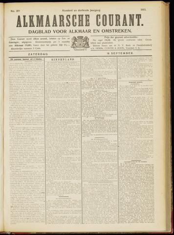 Alkmaarsche Courant 1911-09-16
