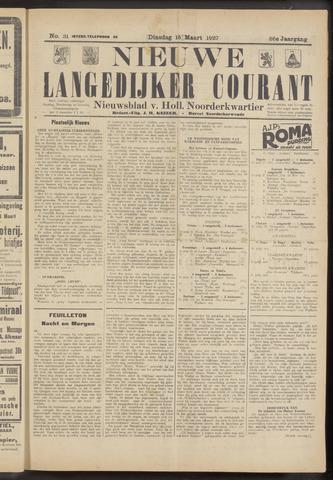 Nieuwe Langedijker Courant 1927-03-15