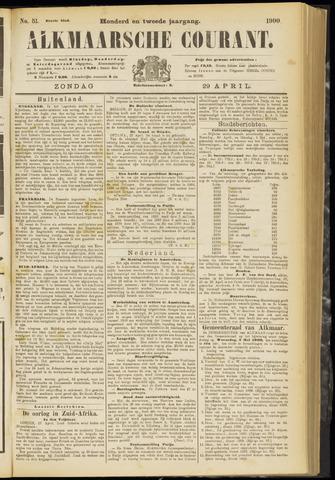 Alkmaarsche Courant 1900-04-29