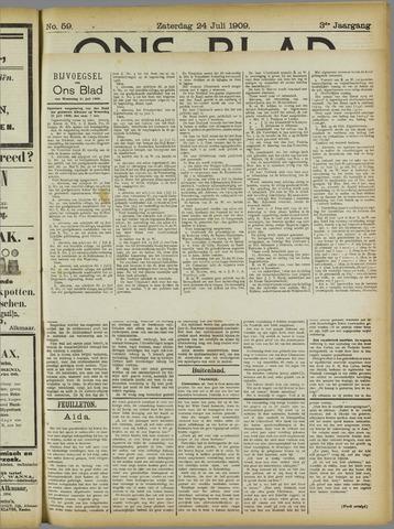 Ons Blad : katholiek nieuwsblad voor N-H 1909-07-24