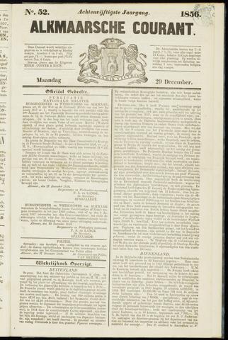 Alkmaarsche Courant 1856-12-29