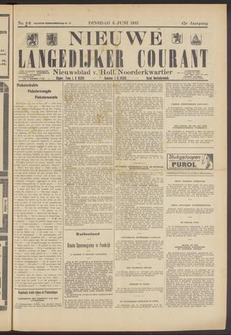 Nieuwe Langedijker Courant 1933-06-06