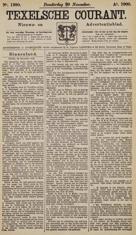 Texelsche Courant 1900-11-29