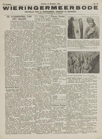 Wieringermeerbode 1943-11-13