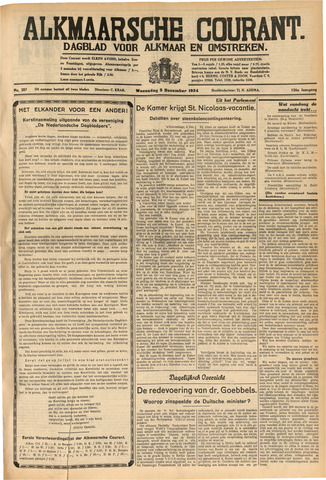 Alkmaarsche Courant 1934-12-05