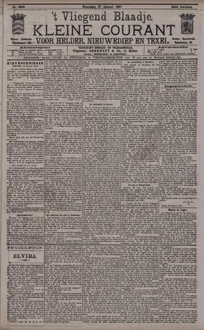 Vliegend blaadje : nieuws- en advertentiebode voor Den Helder 1897-01-27
