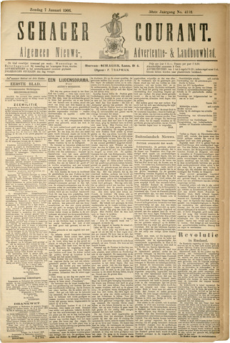Schager Courant 1906