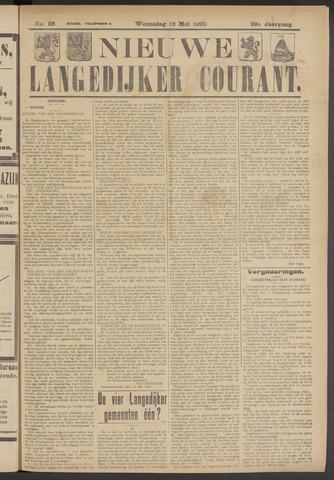 Nieuwe Langedijker Courant 1920-05-12
