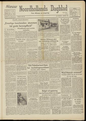 Nieuw Noordhollandsch Dagblad : voor Alkmaar en omgeving 1948-05-04