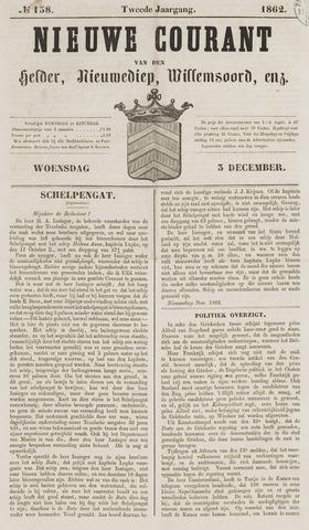 Nieuwe Courant van Den Helder 1862-12-03