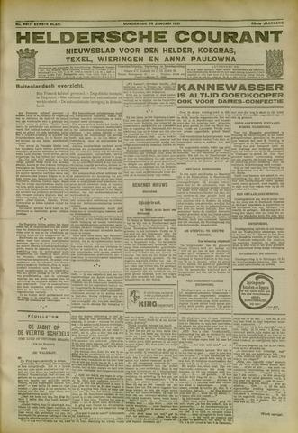 Heldersche Courant 1931-01-29