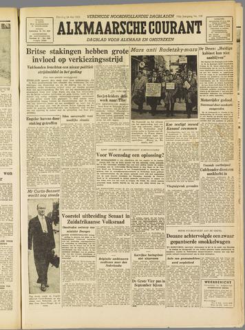 Alkmaarsche Courant 1955-05-24