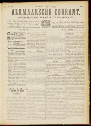 Alkmaarsche Courant 1907-12-24