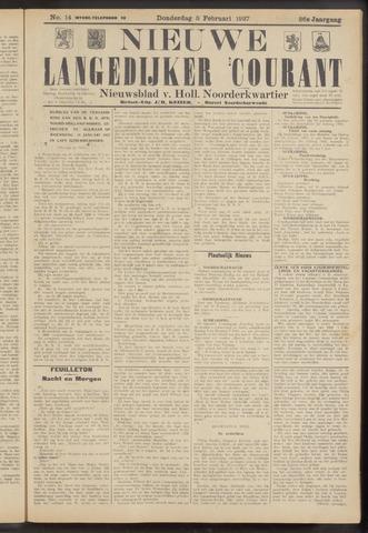 Nieuwe Langedijker Courant 1927-02-03