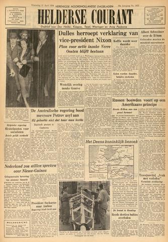 Heldersche Courant 1954-04-21
